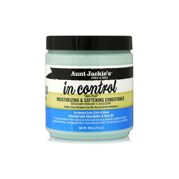 Aunt Jackie's – In Control Anti-Poof Moisturizing and Softening hajbalzsam 426 g