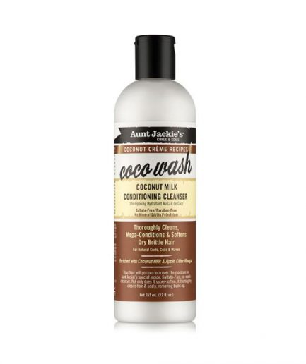 Aunt Jackie's - Coco Wash kókuszos hidratáló sampon 355 ml