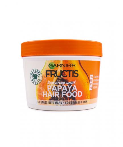 Garnier – Fructis Papaya HairFood 3 in 1 regeneráló maszk 390 ml