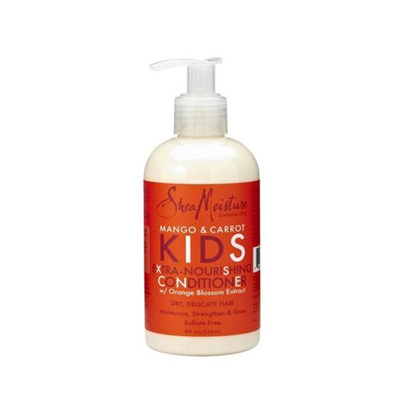 Shea Moisture – Tápláló hajbalzsam gyerekeknek mangóval és répával 237 ml