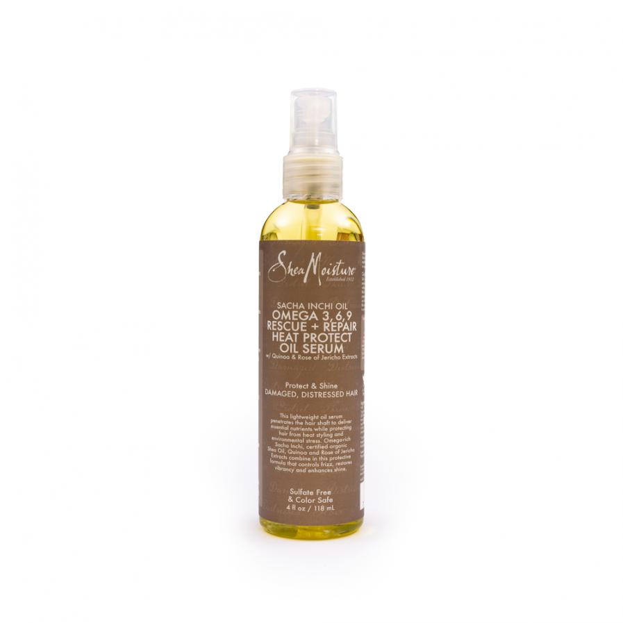 Shea Moisture – Védő és regeneráló szérum inkamogyoró-olajjal Omega 3, 6, 9 118 ml