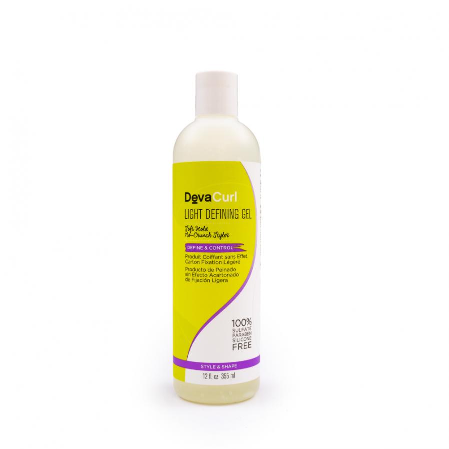 DevaCurl – könnyű rögzítő hajzselé 355 ml