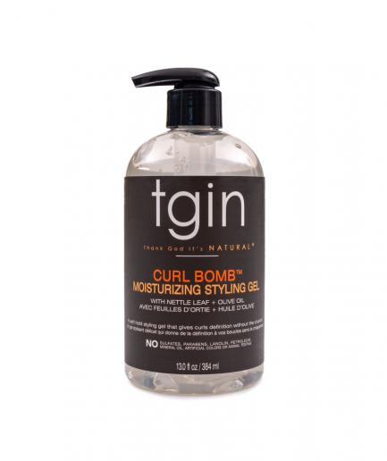 TGIN – Curl Bomb Hidratáló hajzselé göndör fürtökre 384 ml