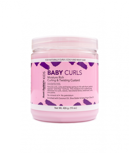 Aunt Jackie's - Baby Girl Curls Curling & Twisting Pudingkrém 426 g