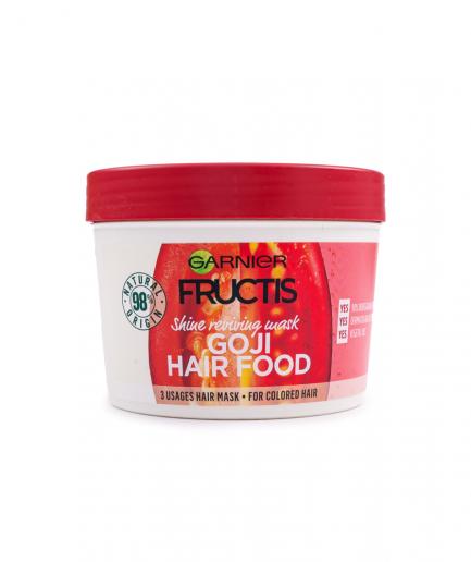 Garnier – Fructis Goji Hair Food 3 in 1 hajfényesítő maszk 390 ml