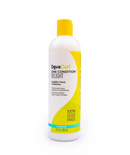 DevaCurl Delight – Hajkondicionáló hullámos hajra 355 ml