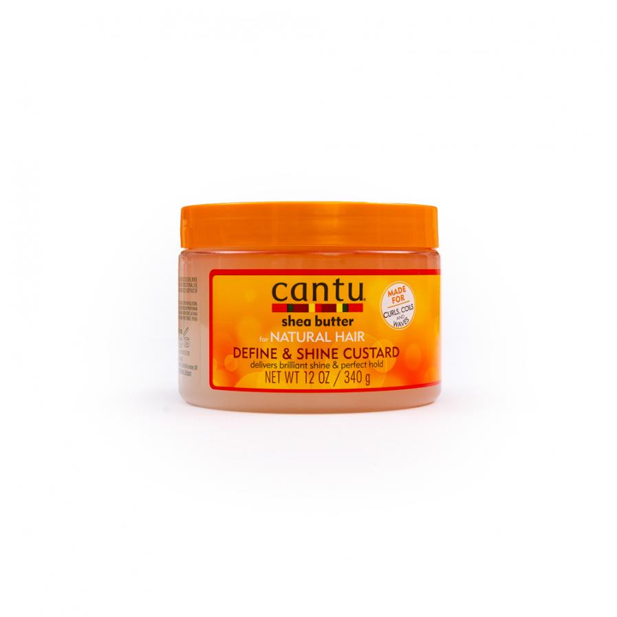 Cantu – Pudingkrém a göndör fürtök definiálásához és csillogásához 340 g