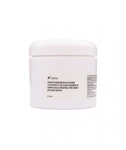 Sabio - Seboregulációs maszk zsíros hajra és irritált fejbőrre 120 ml