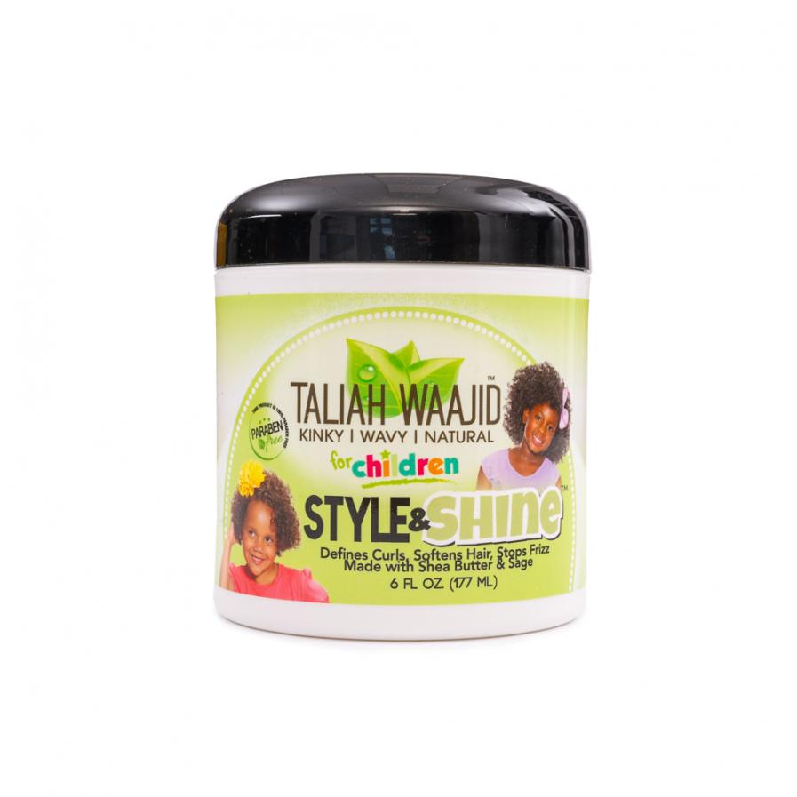 Taliah Waajid – Style&Shine hajformázó krém gyerekeknek 177 ml