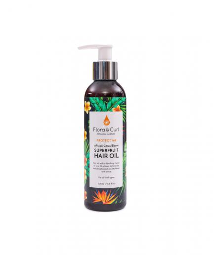 Flora&Curl – African Citrus Superfruit hajolaj 200 ml