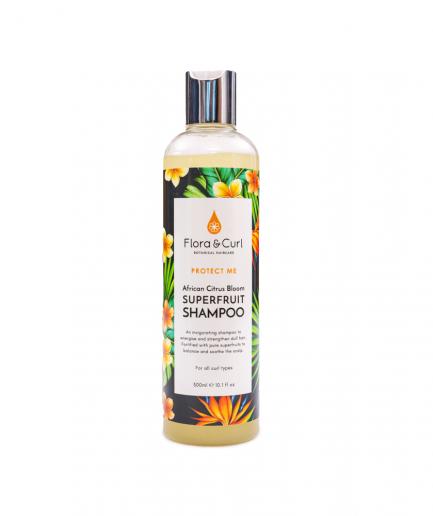 Flora&Curl - Afrikai Citrus Superfruit sampon 300 ml