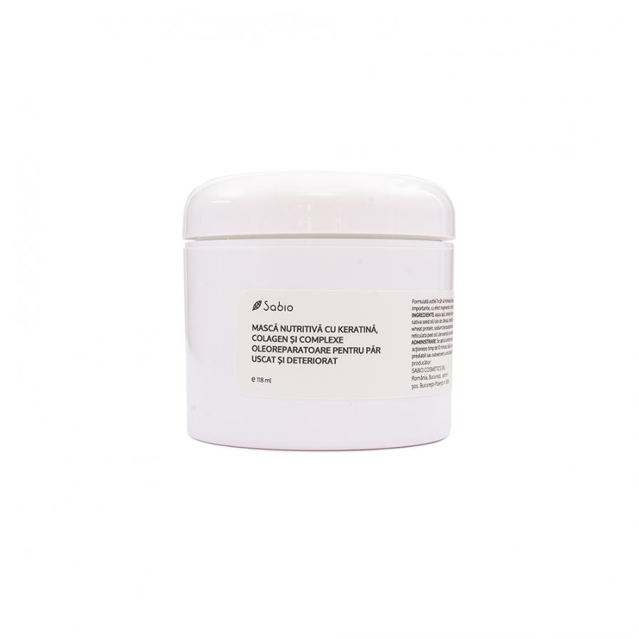 Sabio – Tápláló maszk száraz és sérült hajra 120 ml