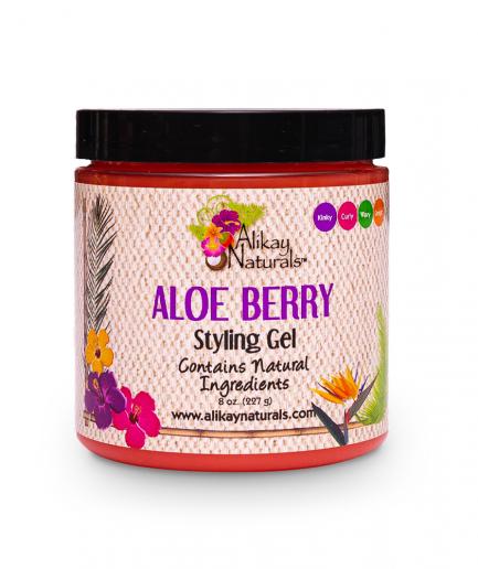 AlikayNaturals – hajzselé Aloe Vera-val és gyümölcsökkel 236 ml