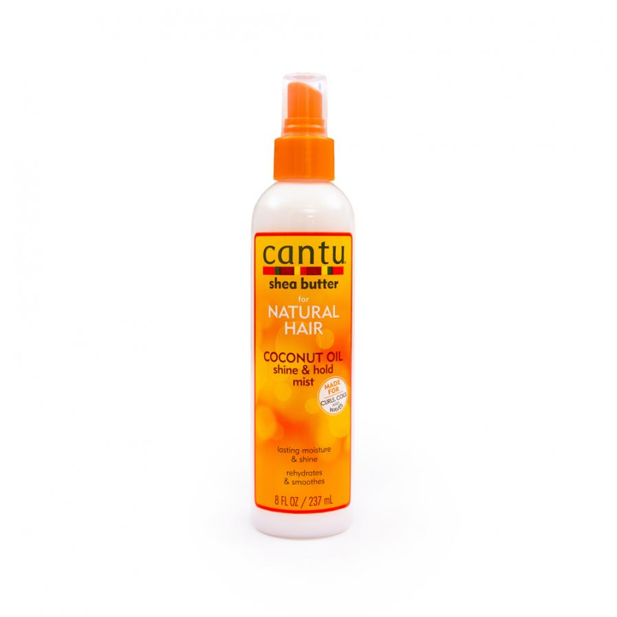 Cantu – Spray a göndör fürtök rögzítéséhez és csillogásához 237 ml