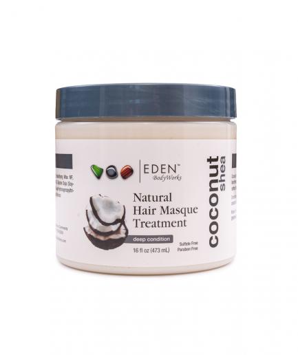 Eden BodyWorks - Kezelő hajpakolás kókuszolajjal és shea vajjal 473 ml