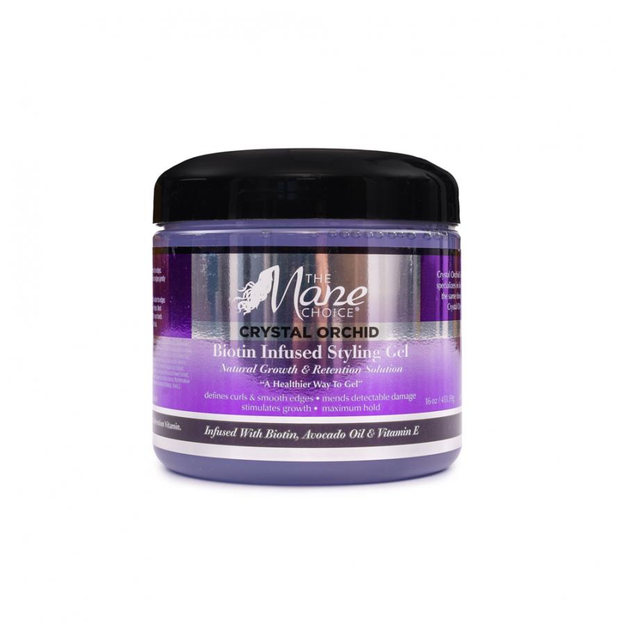 The Mane Choice – Crystal Orchid Hajgél biotinnal 454 g