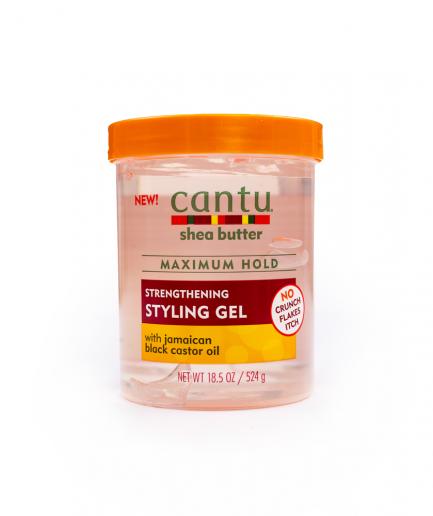 Cantu – Erősítő hajgél fekete ricinusolajjal 524 ml