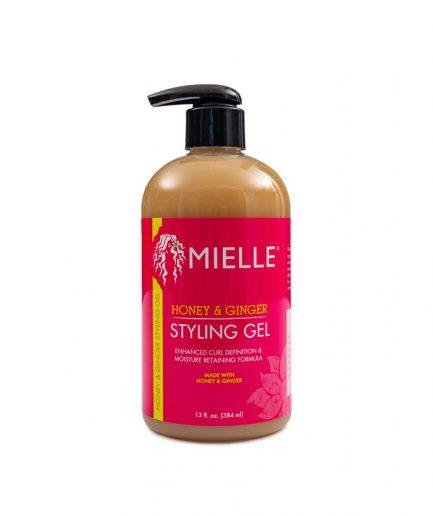 Mielle – Hajgél gyömbérrel és mézzel 384 ml