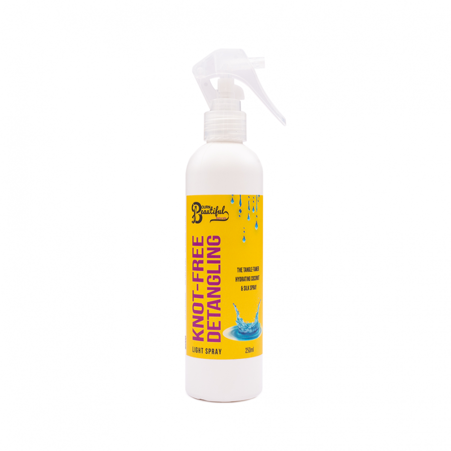 Bourn Beautiful Naturals – Knot-Free spray a haj fésülésére 250 ml