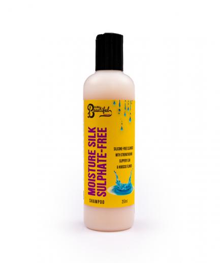 Bourn Beautiful Naturals – Moisture Silk szulfát nélküli sampon 250 ml