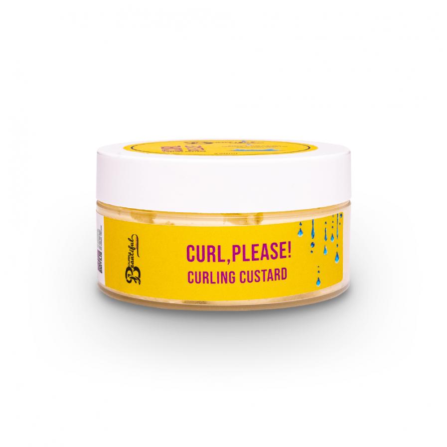 Bourn Beautiful Naturals – Curl, Please! Definiáló pudingkrém 250 ml