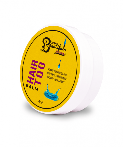Bourn Beautiful Naturals – Hair Too Balm hajvaj 55 ml