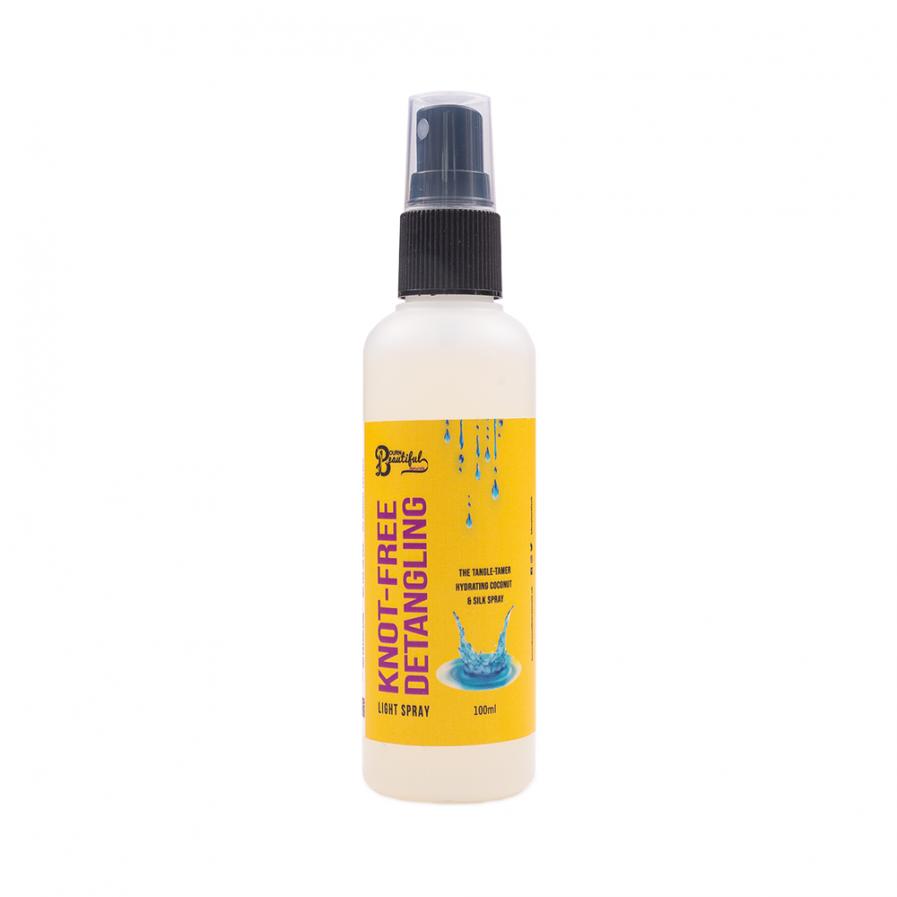 Bourn Beautiful Naturals – Knot-Free spray a haj fésülésére 100 ml