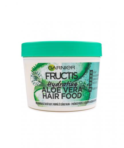 Garnier – Hair Food 3 in 1 Aloe Vera-s hidratáló hajpakolás 390 ml