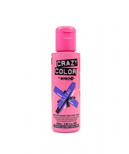 Crazy Color - Lilac szemi-permanens hajfesték 100 ml