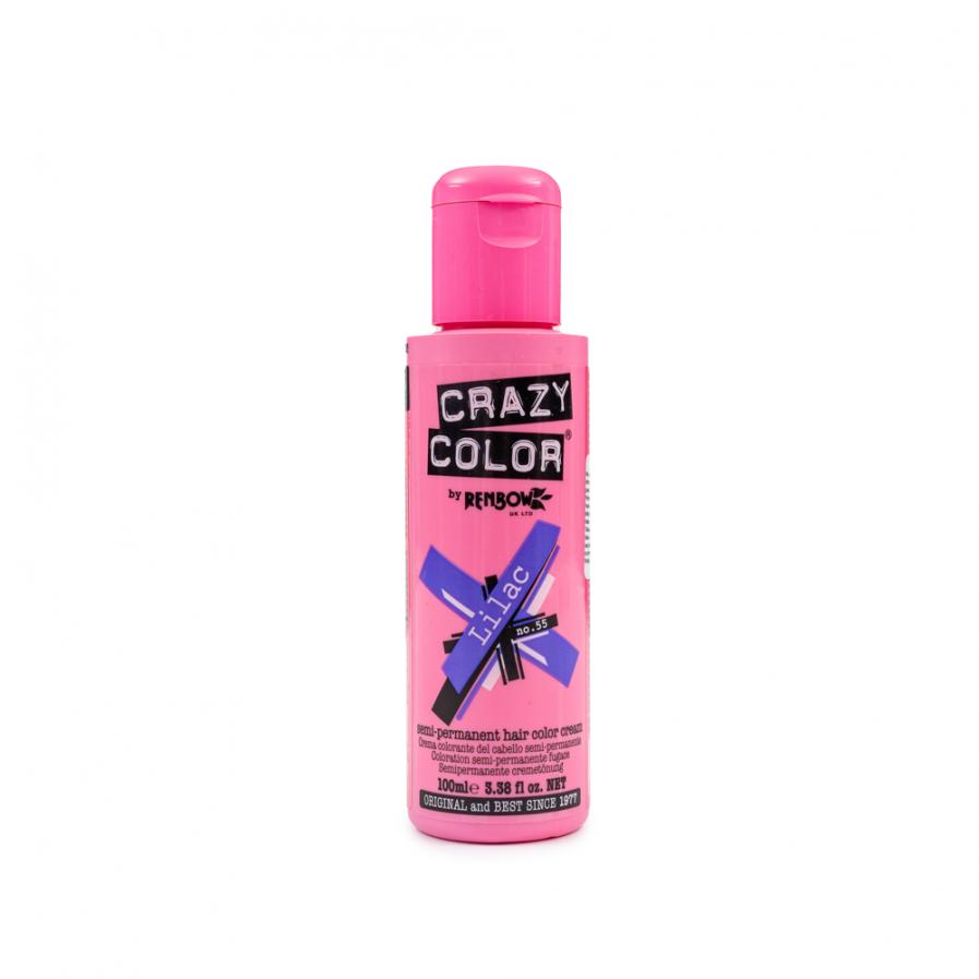 Crazy Color - Lilac szemi-permanens hajfesték 100 ml