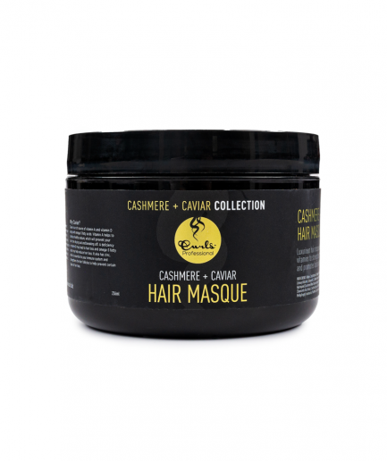 Curls – Cashmere + Caviar hajpakolás 236 ml
