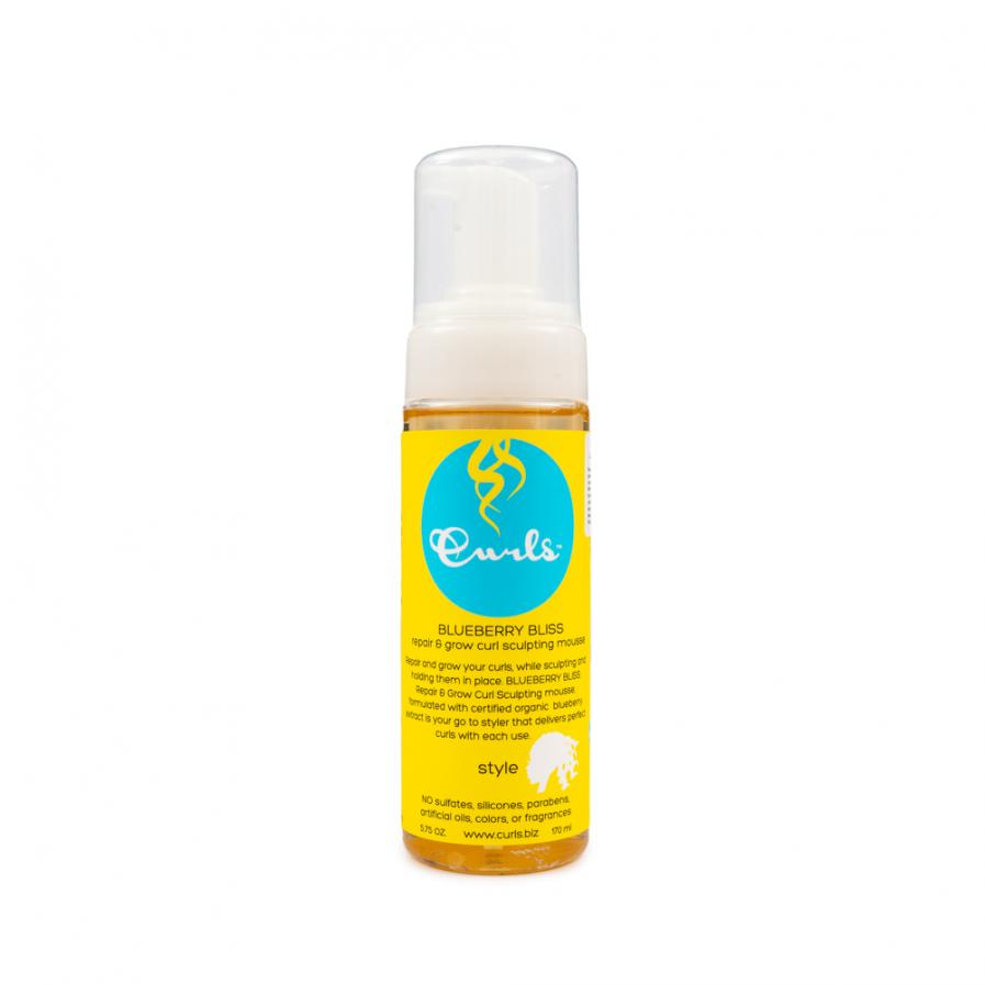 Curls – Blueberry Bliss hajnövekedés serkentő javító hajhab 170 ml