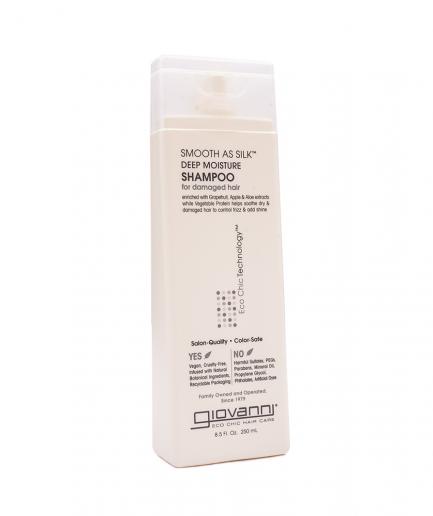 Giovanni – Smooth as Silk intenzíven hidratáló sampon 250 ml