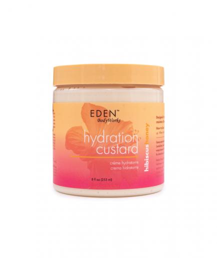 Eden BodyWorks – Pudingkrém a fürtök hidratálására mézzel és hibiszkusszal 236 ml