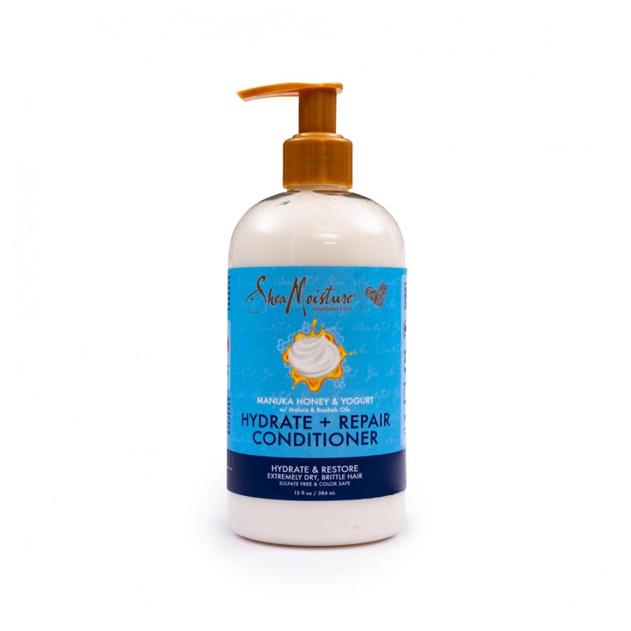 Shea Moisture – Hidratáló és javító Manuka-mézes és joghurtos balzsam 384 ml