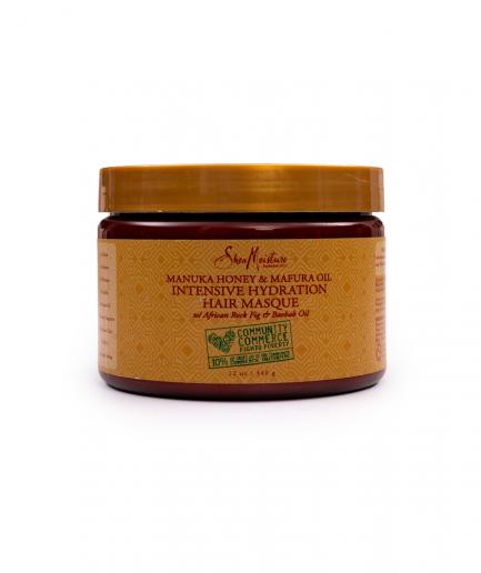 Shea Moisture – Manuka-mézes és Mafura-olajas intenzíven hidratáló pakolás 340 ml