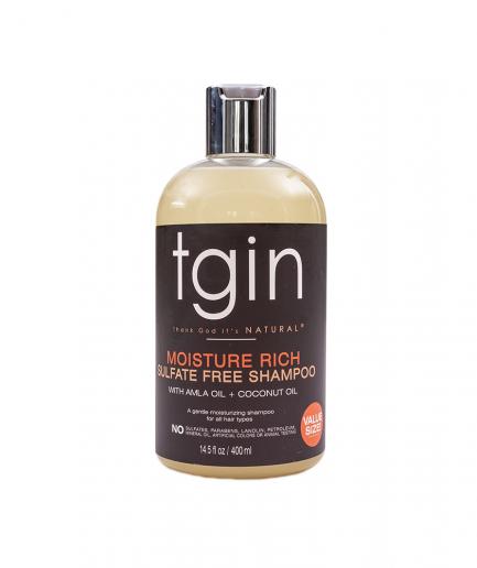 TGIN – Szúlfátmentes hidratáló sampon 400 ml