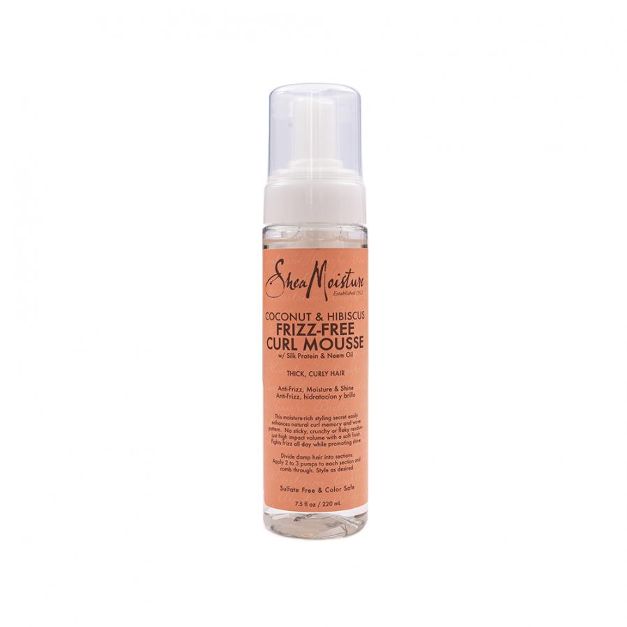 Shea Moisture – Anti-frizz hajhab kókusszal és hibiszkusszal 220 ml