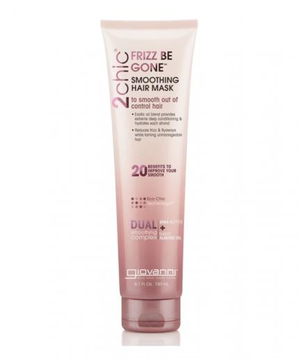 Giovanni 2chic – Frizz Be Gone pakolás a haj elektrizálódása ellen 150 ml