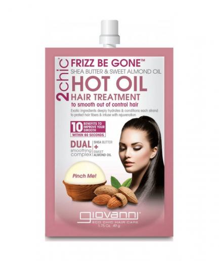 Giovanni 2chic – Frizz Be Gone meleg olajas kezelés 49 g