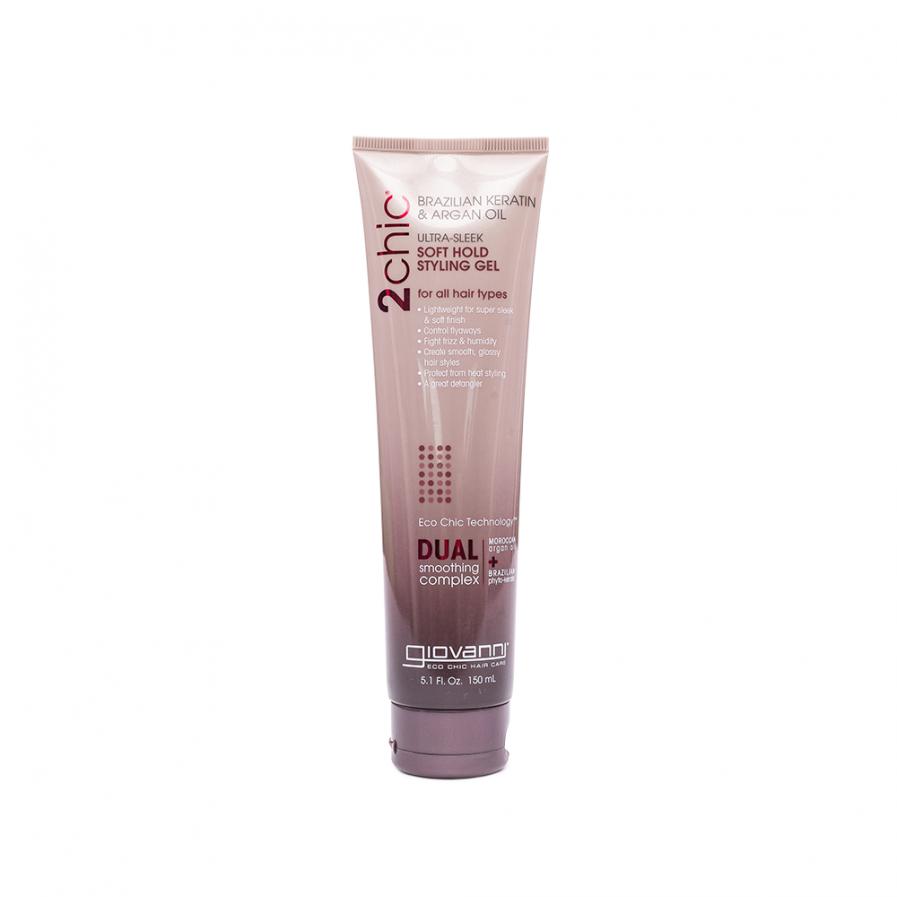 Giovanni 2chic – Ultra Sleek könnyű rögzítésű hajgél 150 ml