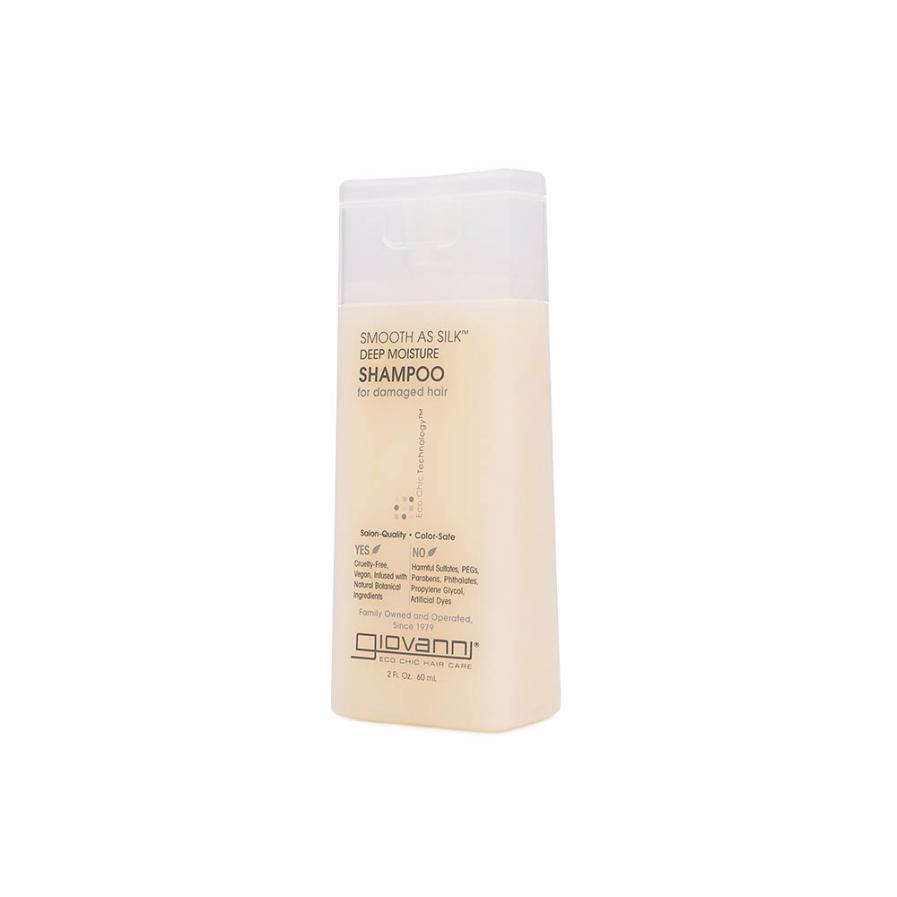 Giovanni – Smooth as Silk intenzíven hidratáló sampon 60 ml