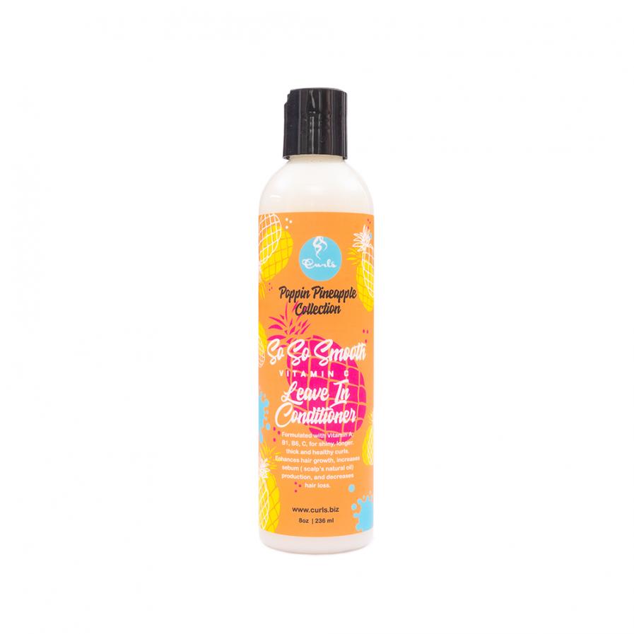 Curls – So So Smooth öblítés nélküli balzsam C vitaminnal 236 ml