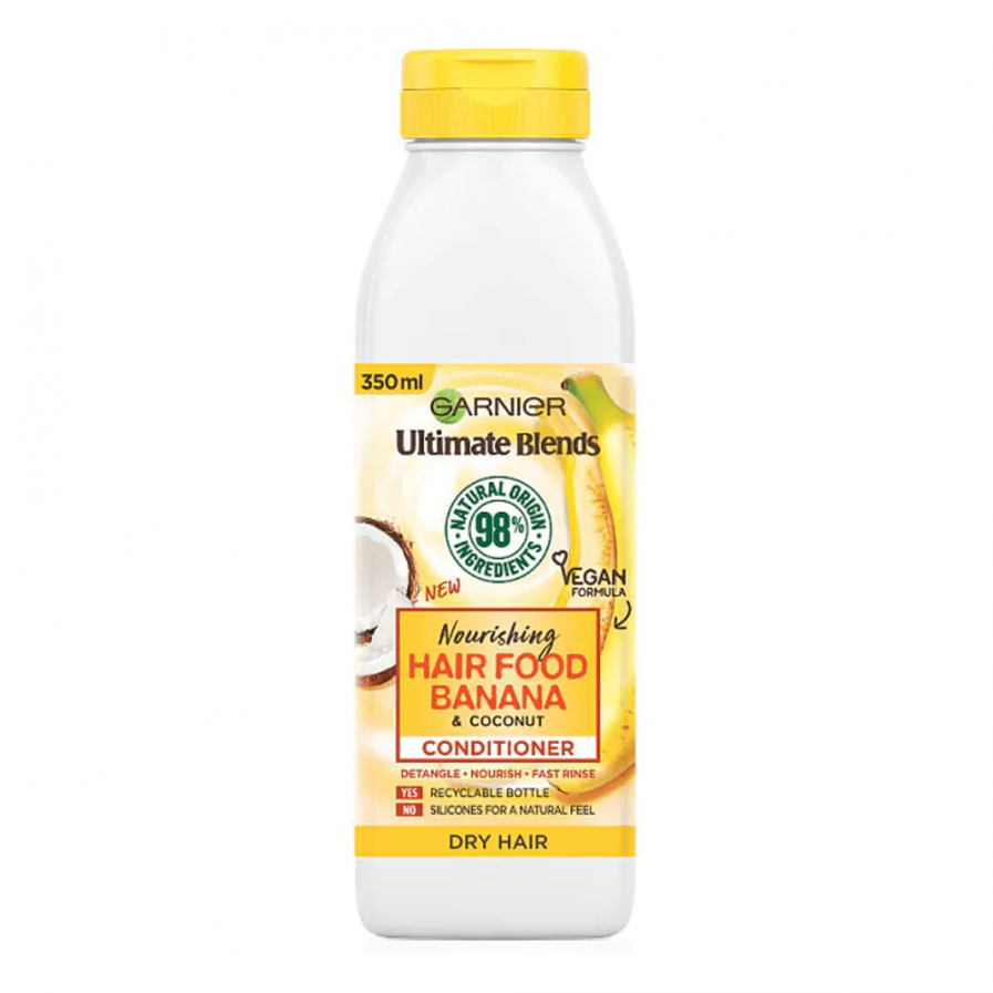 Garnier - Fructis Banana Hair Food tápláló balzsam 350 ml