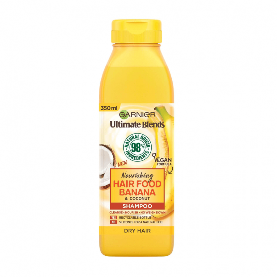 Garnier - Fructis Banana Food tápláló sampon 350 ml