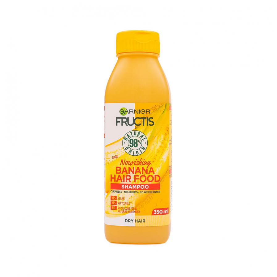 Garnier - Fructis Banana Food tápláló sampon 350 ml