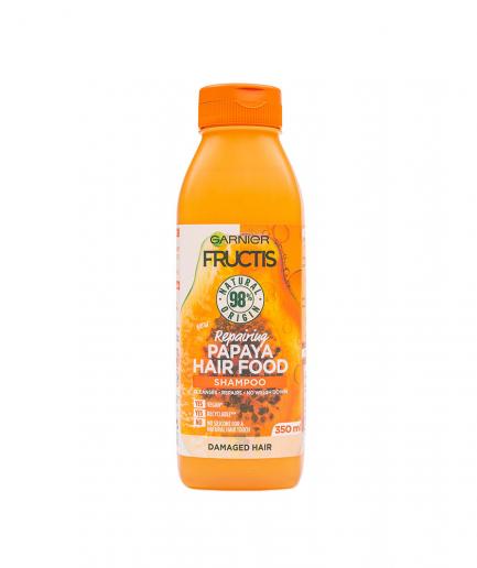Garnier - Fructis Papaya Hair Food javító sampon 350 ml