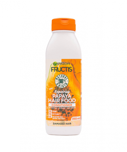 Garnier - Fructis Papaya Hair Food javító balzsam 350 ml