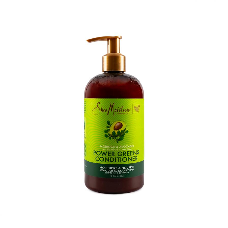 Shea Moisture - Moringa &Avocado Power Greens balzsam 384 ml