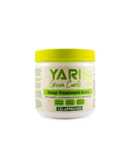 Yari Green Curls – Intenzíven hidratáló pakolás 475 ml